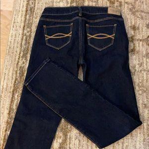 Abercrombie Skinny Jeans 0S W25 L 31 Dark wash